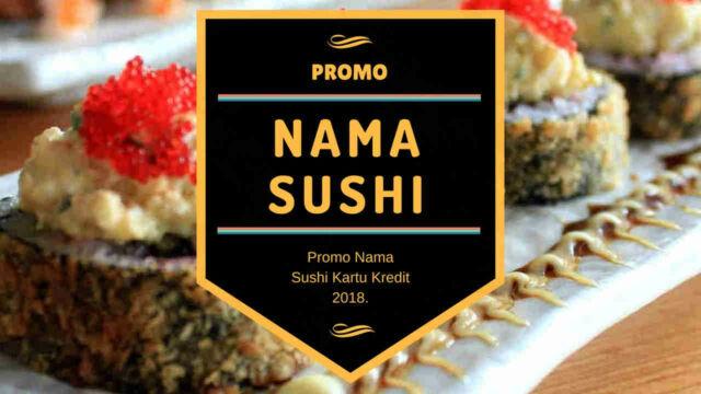 Promo Nama Sushi