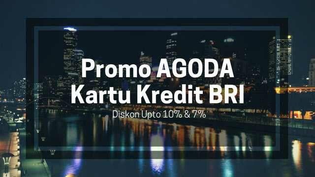 Promo Agoda kartu kredit BRI