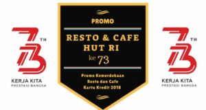 Promo Kemerdekaan Resto dan Cafe