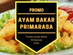 Promo Ayam Bakar Primarasa
