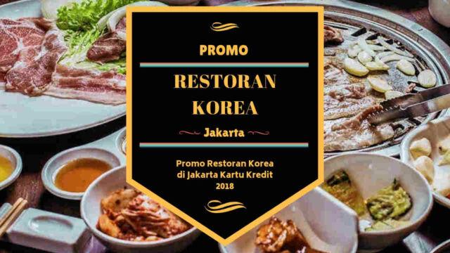 Promo Restoran Korea di Jakarta