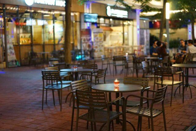 restoran dan cafe di scientia park tangerang