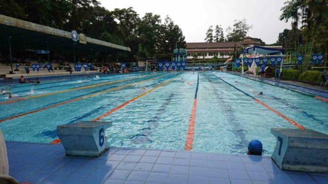 kolam untuk latihan atlit renang