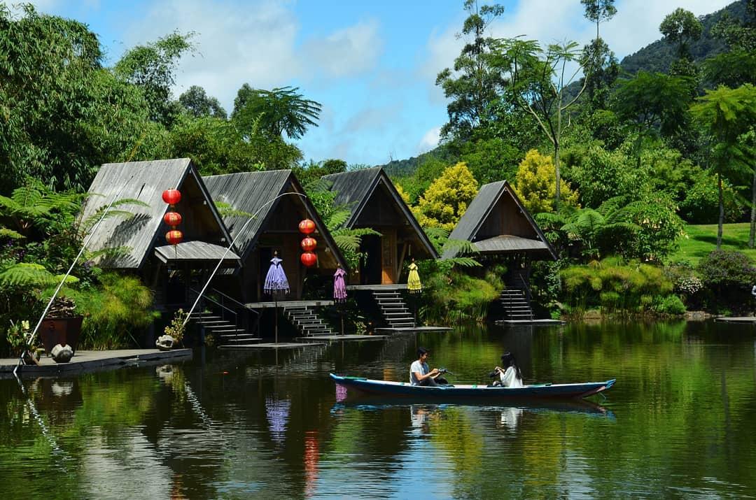 area danau dusun bambu