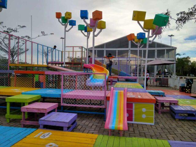 wahana permainan anak scientia square park