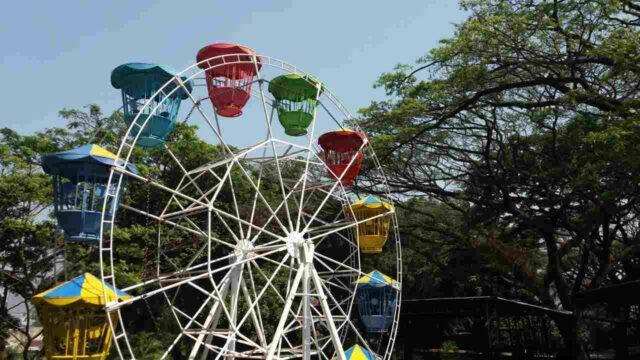 wahana non air kincir ferris wheel