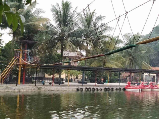 tempat outbond fishing valley bogor