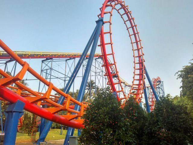 roller coaster dufan