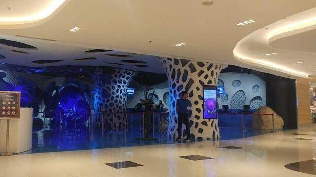 lobi utama jakarta aquarium