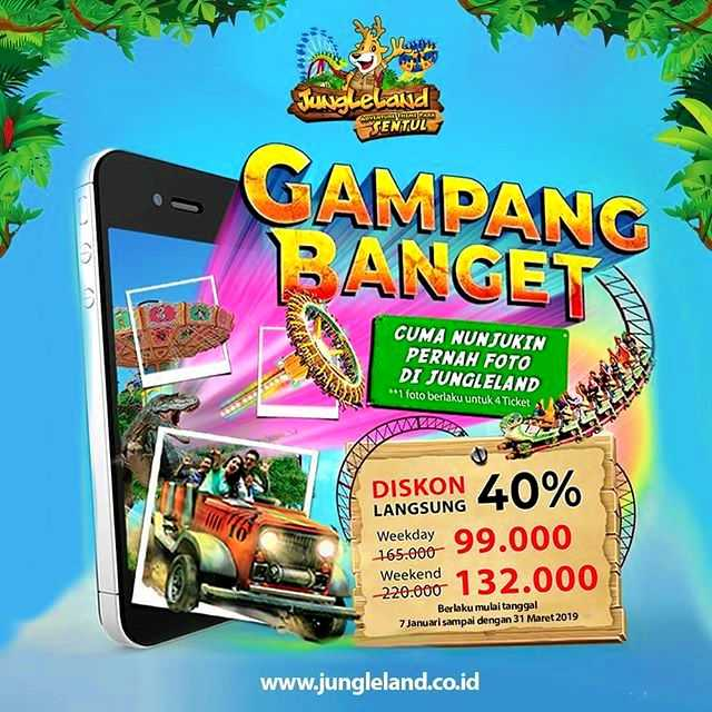 Promo Jungleland Sentul Diskon Hingga 40 S D Maret 2019 Travels Promo
