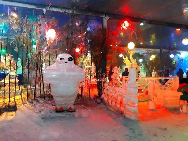 area snow world bekasi