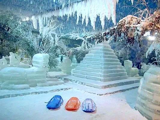 wahana snow world