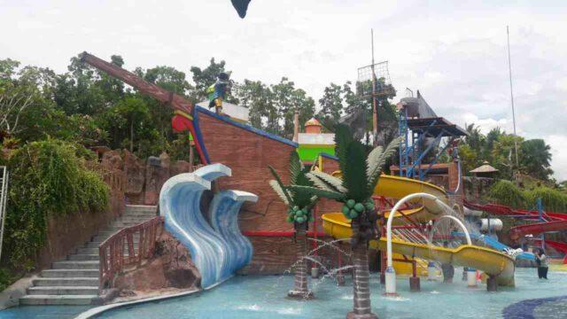 wahana anak citragrand mutiara waterpark yogya