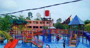 Waterboom Banua Anyar Banjarmasin