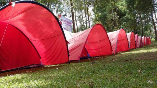 tenda untuk berkemah di ciwangun indah camp