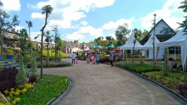 taman-taman sekitar amah borneo park