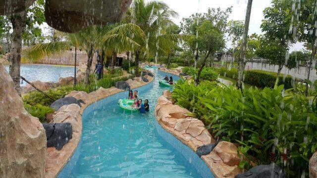 kolam arus tenang