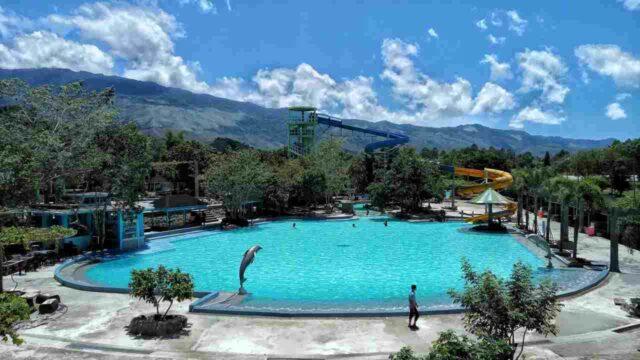 bentang alam kawasan water park