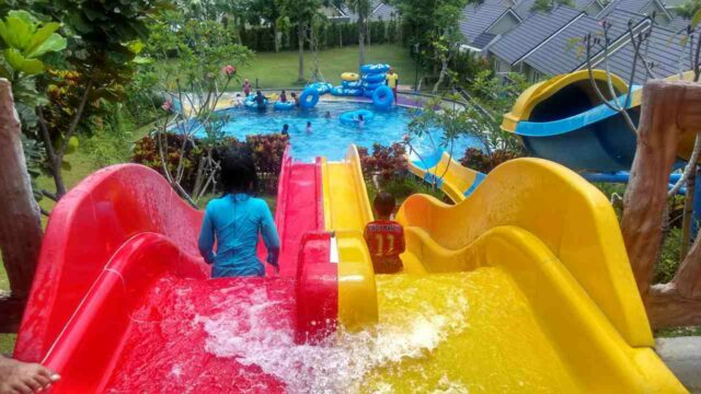 wahana peluncuran citragrand waterpark yogya