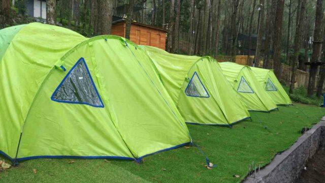 tenda kemping di kopeng