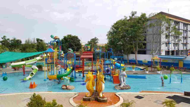 kolam anak yang keren dan wahana lengkap