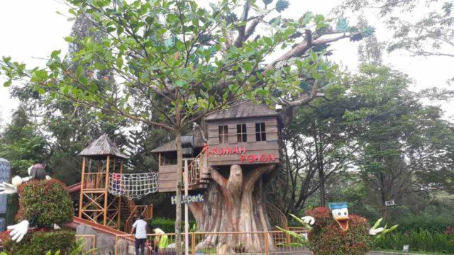 Rumah Pohon Hillpark Sibolangit
