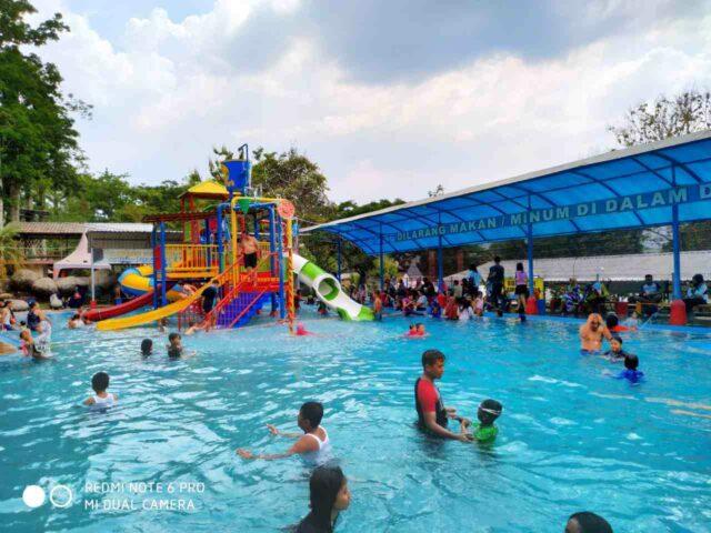 wahana permainan air pacet mini park