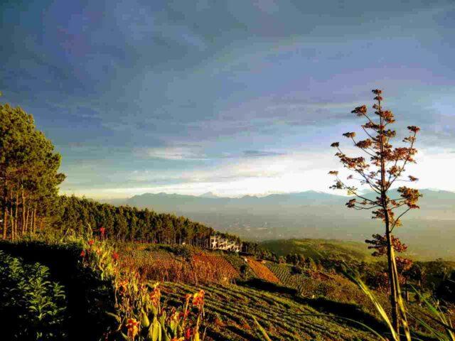 Sunset Puncak Bintang Bandung