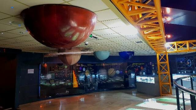 Interior Ruangan Planetarium Jakarta