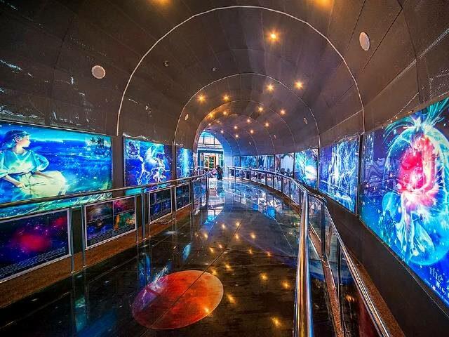ruang pameran planetarium jakarta