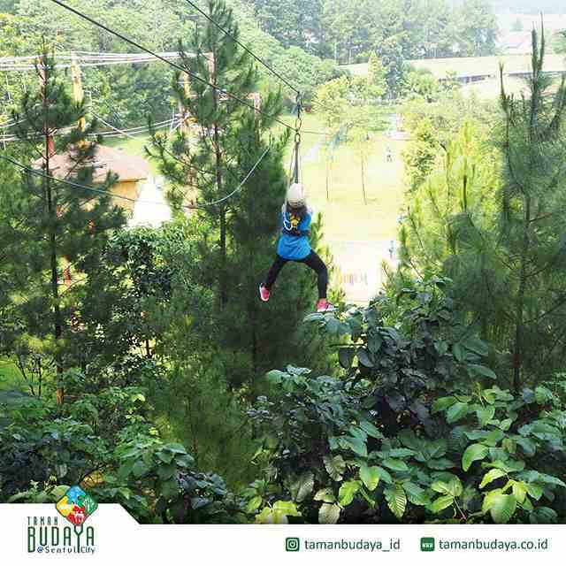 wahana flying fox