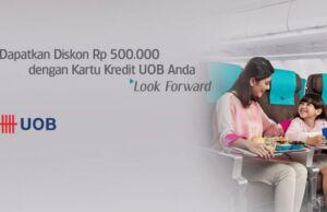 Promo Kartu Kredit UOB Garuda Indonesia