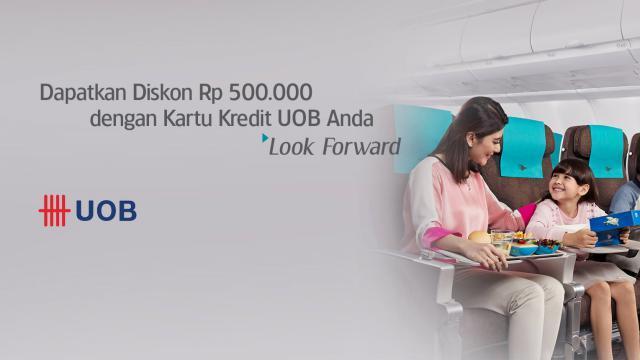 Promo Kartu Kredit Uob Garuda Indonesia Diskon Hingga Rp500 000