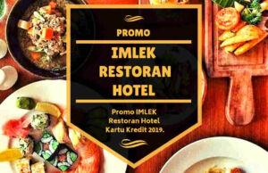 Promo Imlek Restoran Hotel