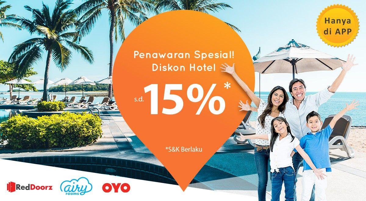 Promo Aairy Rooms Reddoorz Dan Oyo Pegipegi Diskon 15 Travelspromo