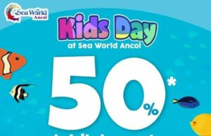 Promo Seaworld Ancol Khusus Anak