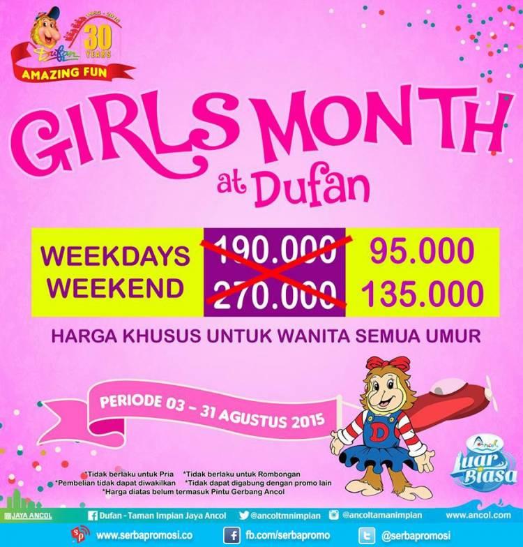 Promo Dufan Girl S Month Diskon Hingga Rp125 000 Maret 2019