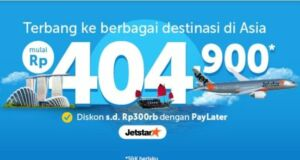 Promo Jetstar Traveloka Apps