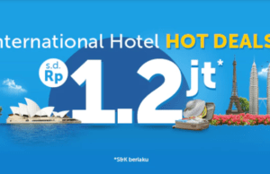Promo Hotel Internasional Traveloka App