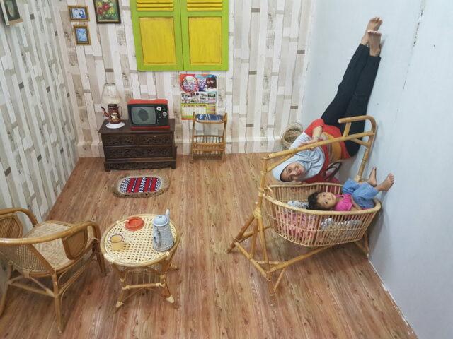 Ruang tamu jadul