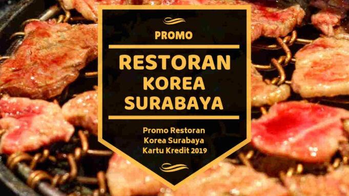 Promo Restoran Korea Surabaya