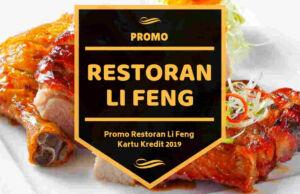 Promo Restoran Li Feng