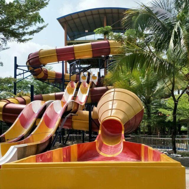 Uji Adrenalin dengan Crazy Cone OPI Water Fun Palembang