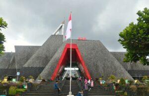 Gedung museum Gunung Merapi
