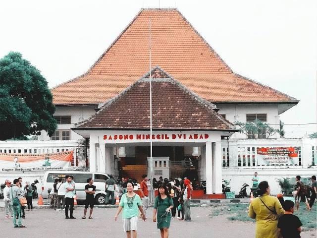 Gedung pertunjukan wayang di Alkid Yogyakarta