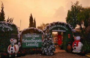 Gerbang masuk Kebun Begonia