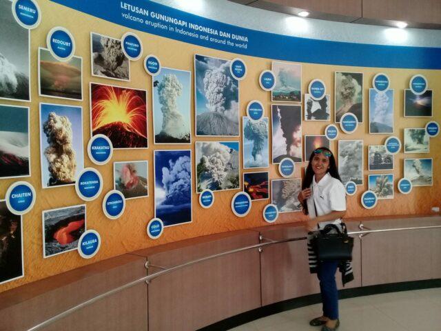 Informasi yang ada di dalam Museum Gunungapi Merapi