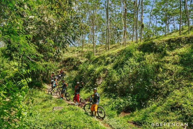 Jalur sepeda downhill