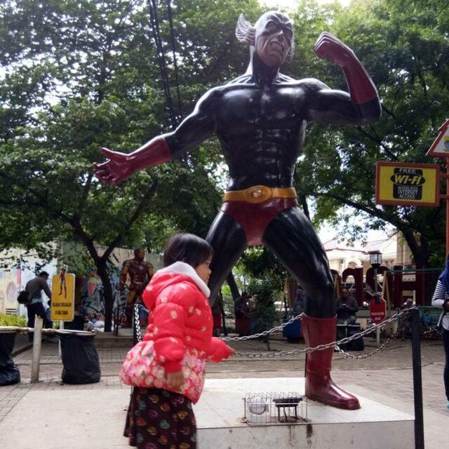 Jangan Lewatkan Kesempatan Berfoto Bersama Superhero