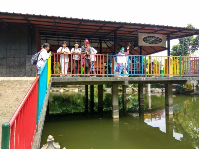 kolam pemancingan ikan